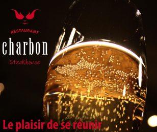 Le plaisir de se réunir au Charbon Steakhouse!
